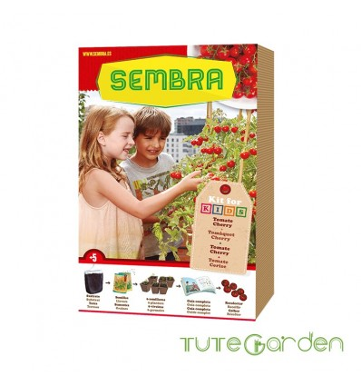 Mi huerto urbano - Kit tomate cherry